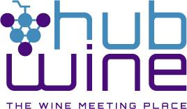 Logo hubwine baseline